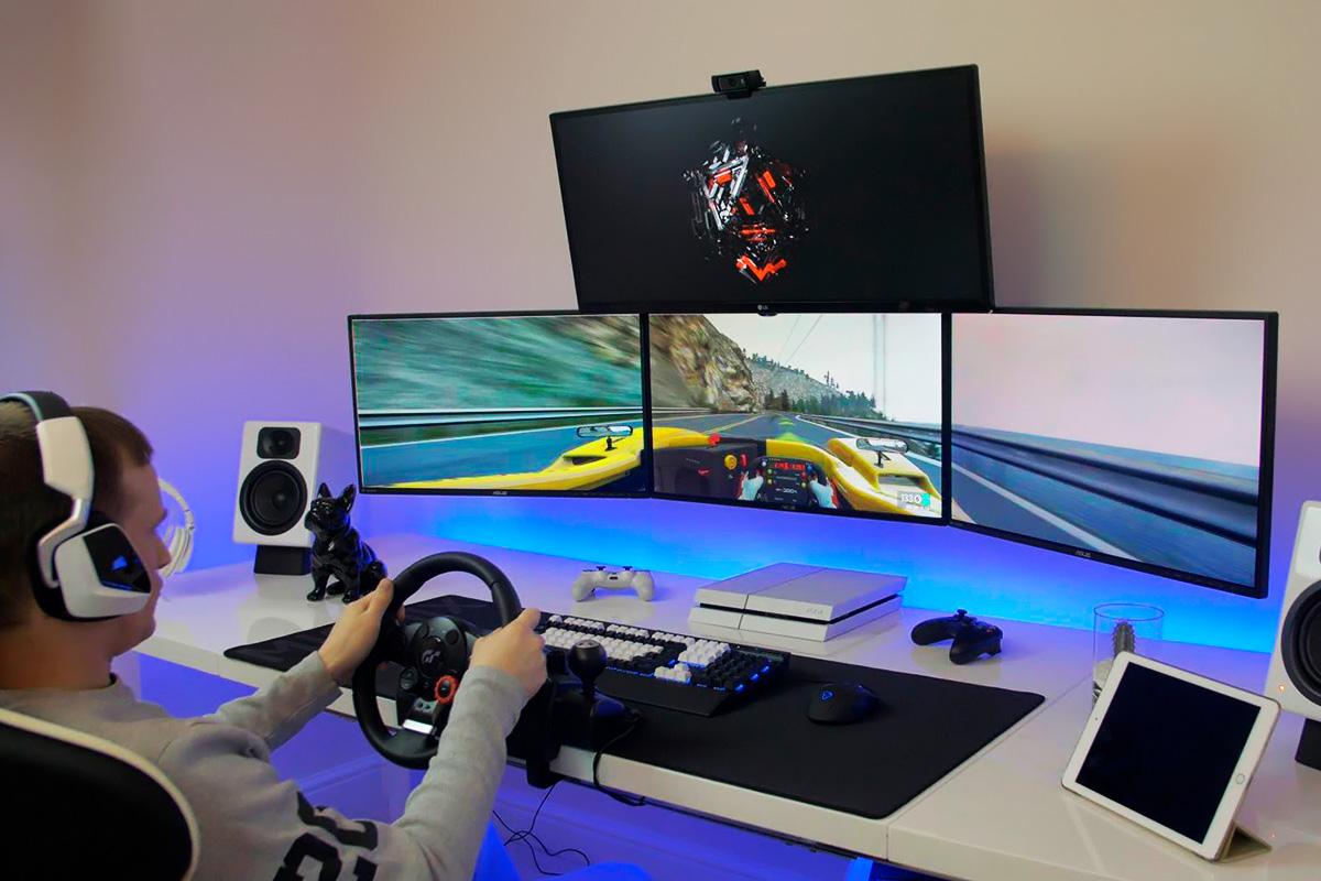 Использование трех мониторов в играх