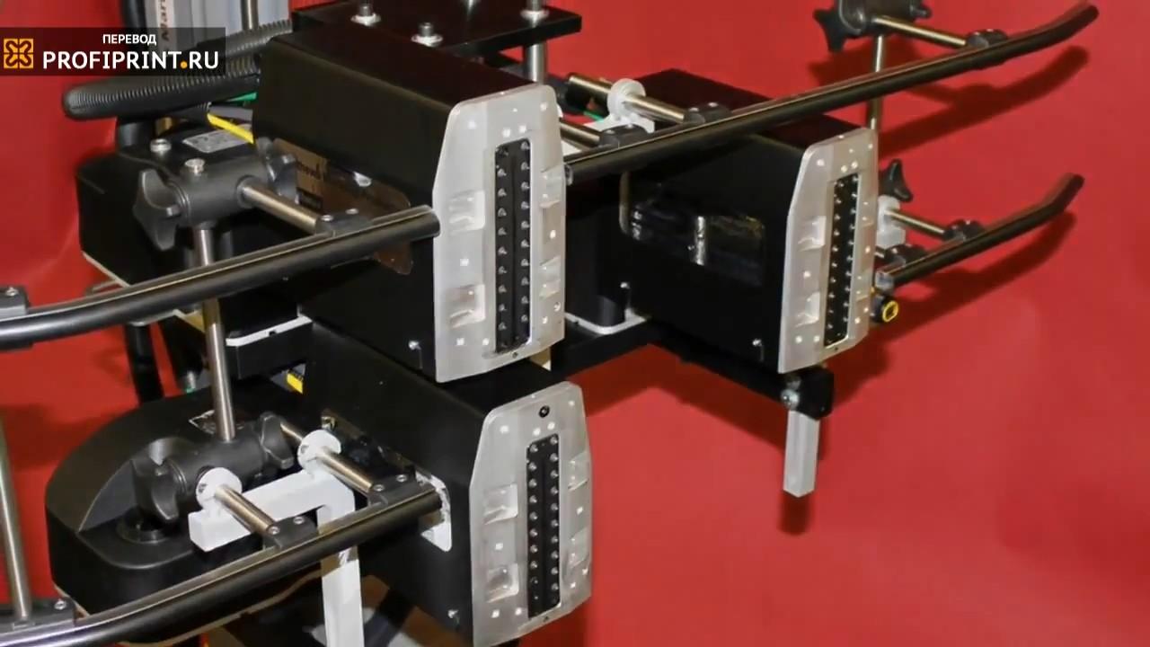 Печатные головки каплеструйного принтера
