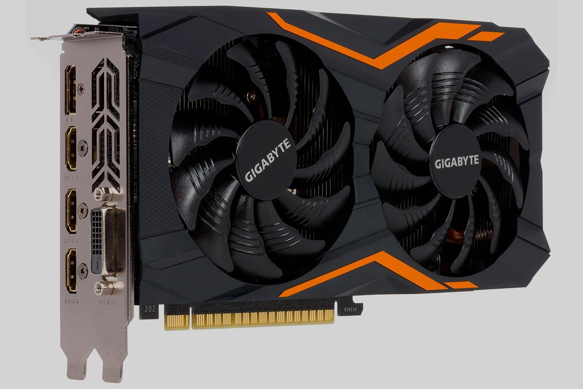 Видеокарта Gigabyte GTX 1050