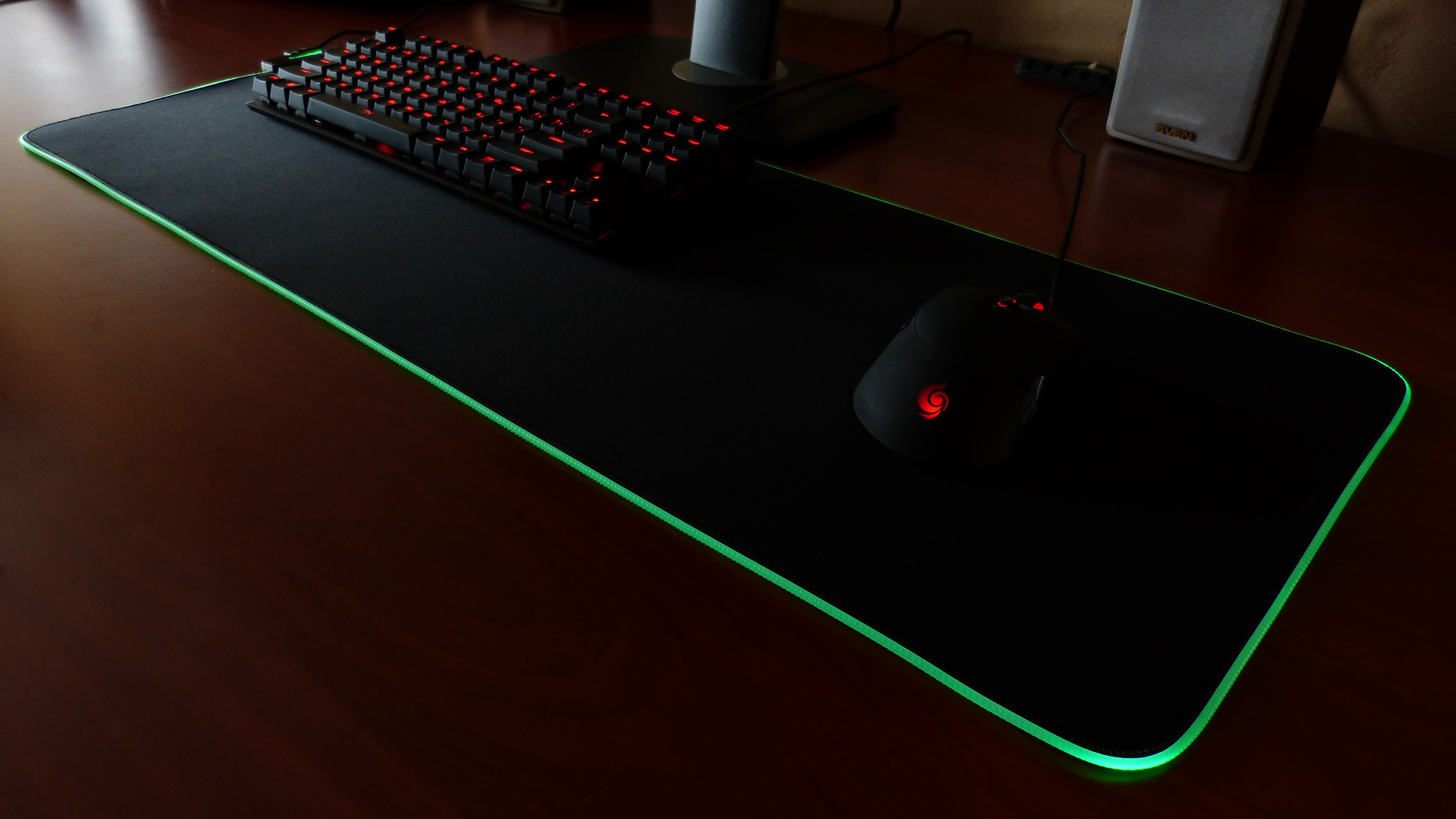 Цвета подсветки Tronsmart Spire RGB Mouse Pad