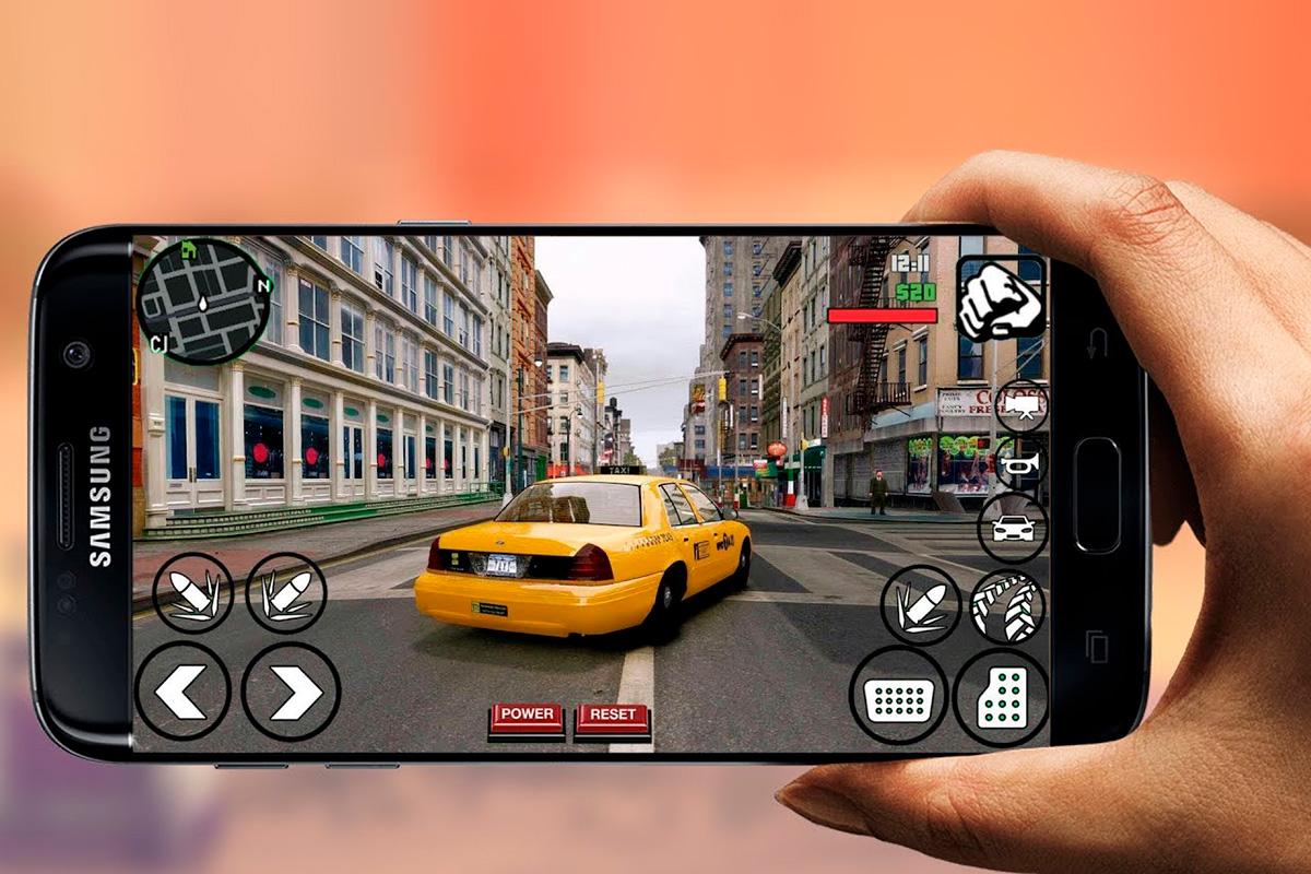 Игра GTA IV на Android