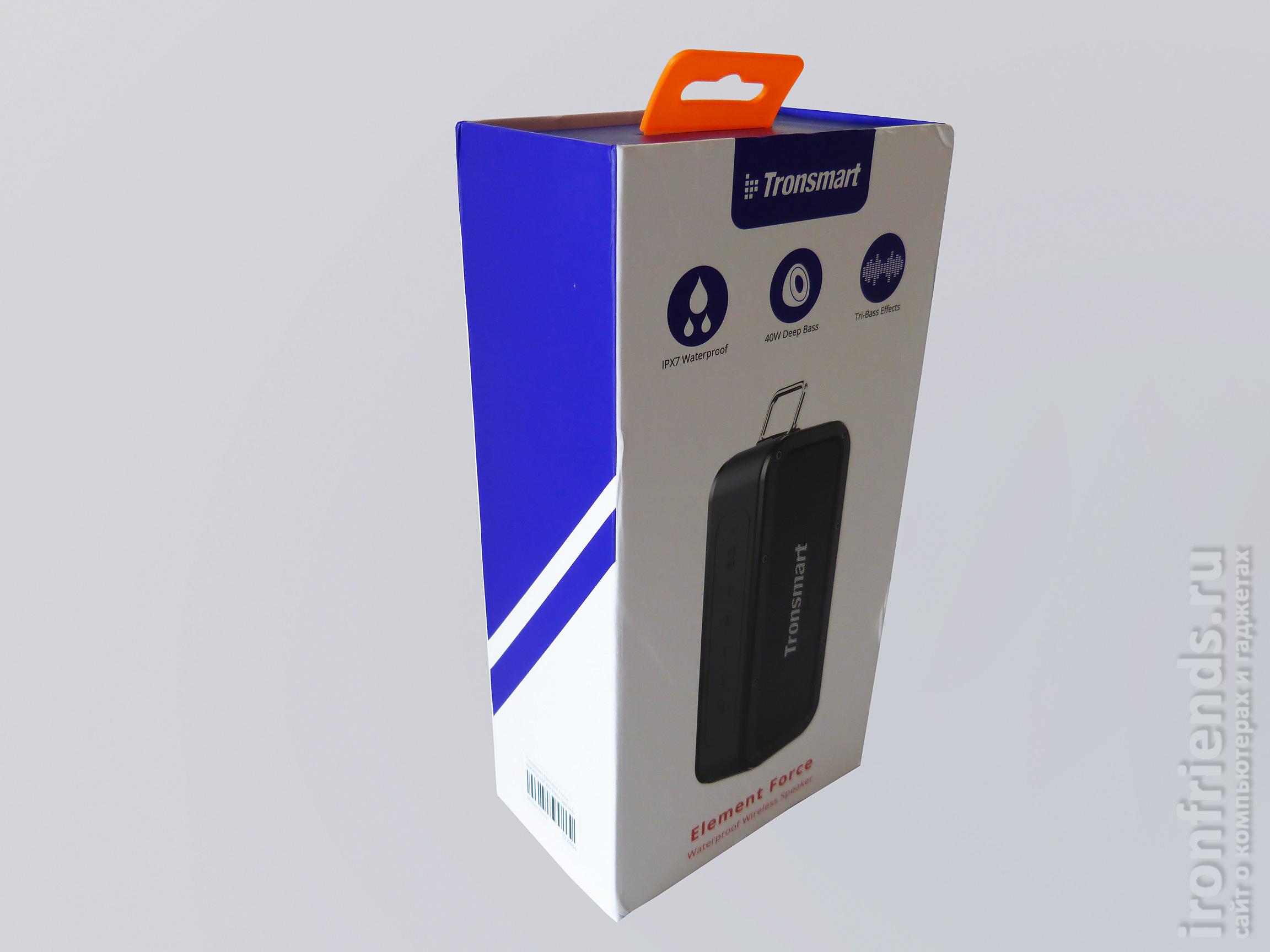 Упаковка Tronsmart Element Force