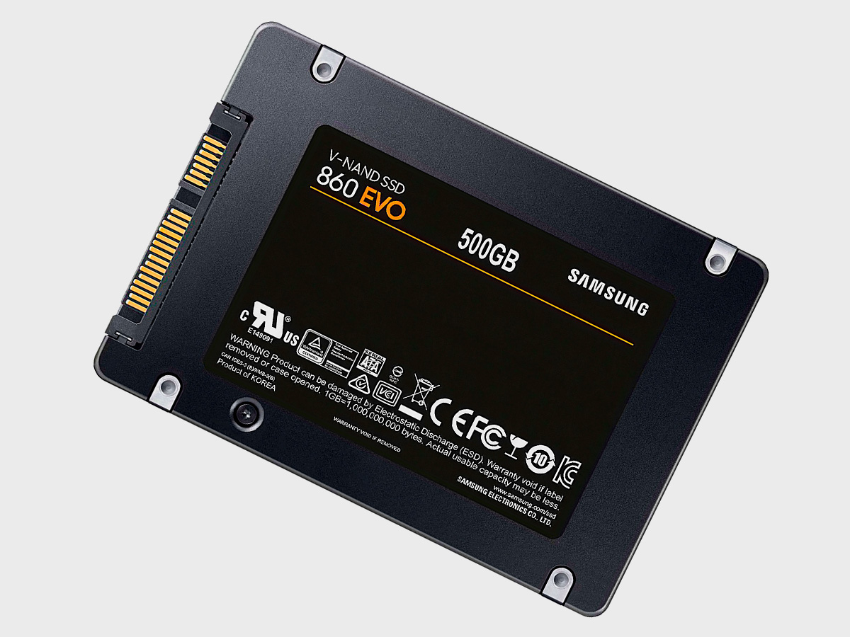 "SSD диск Samsung 860 EVO 2.5"""