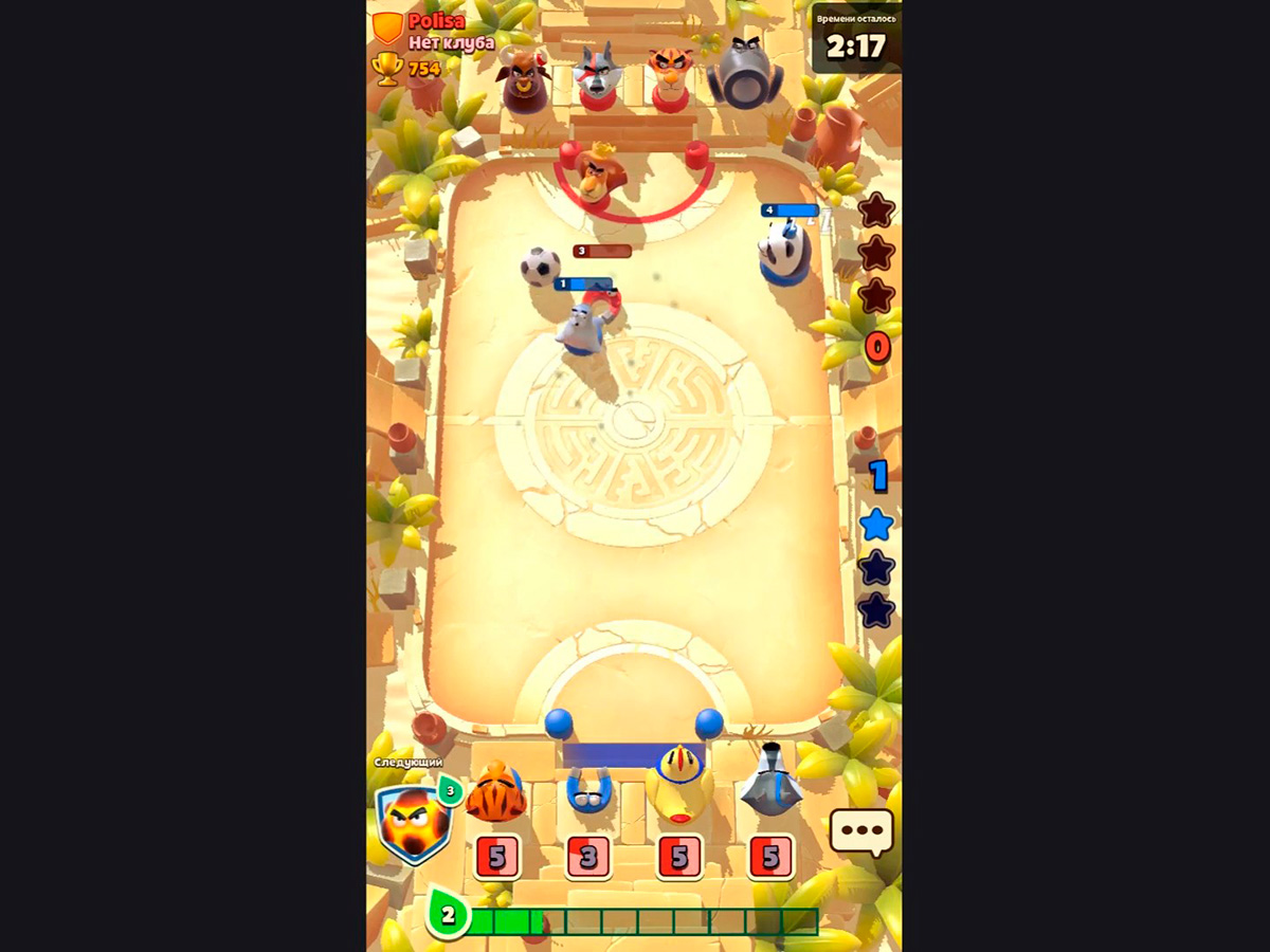 Скриншот из игрыRumble Stars Soccer