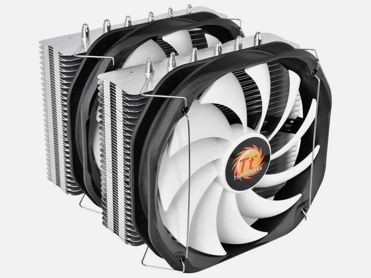 Кулер Thermaltake Frio Extreme Silent 14 Dual