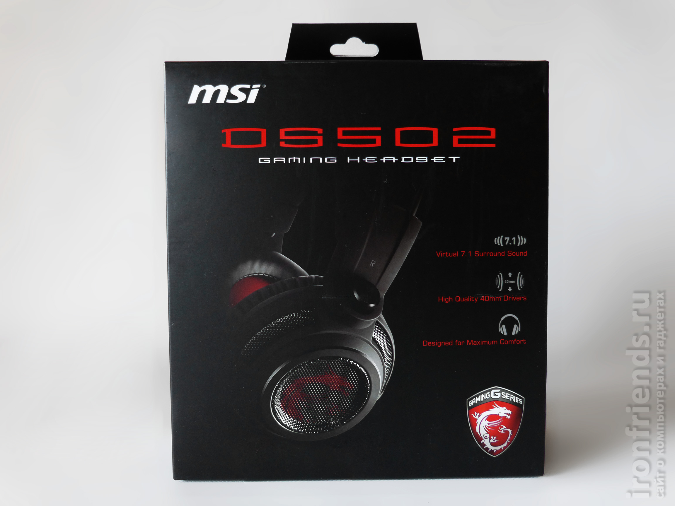 Особенности MSI DS502
