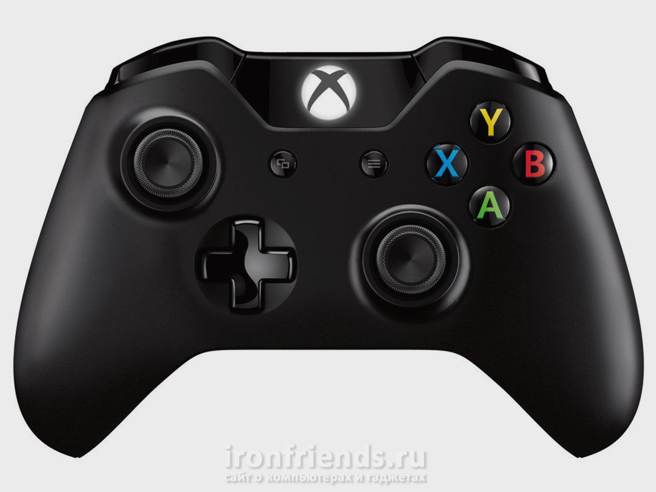 Геймпад Xbox One первой и второй версии