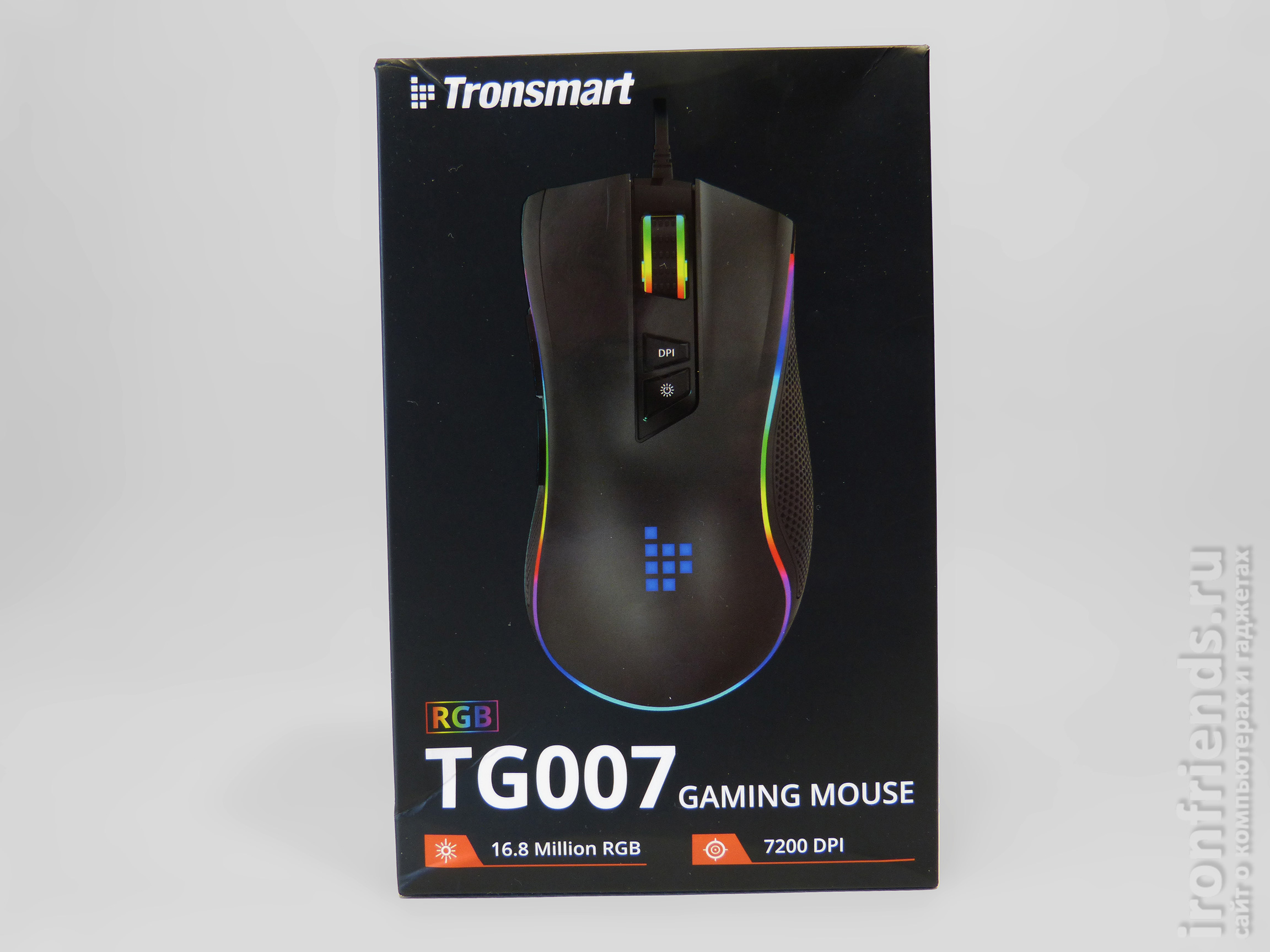 Упаковка Tronsmart TG007