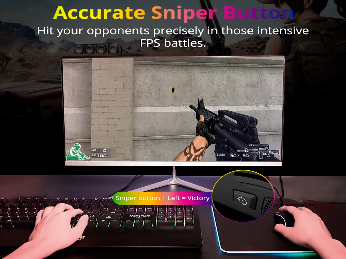 Кнопка снайпер