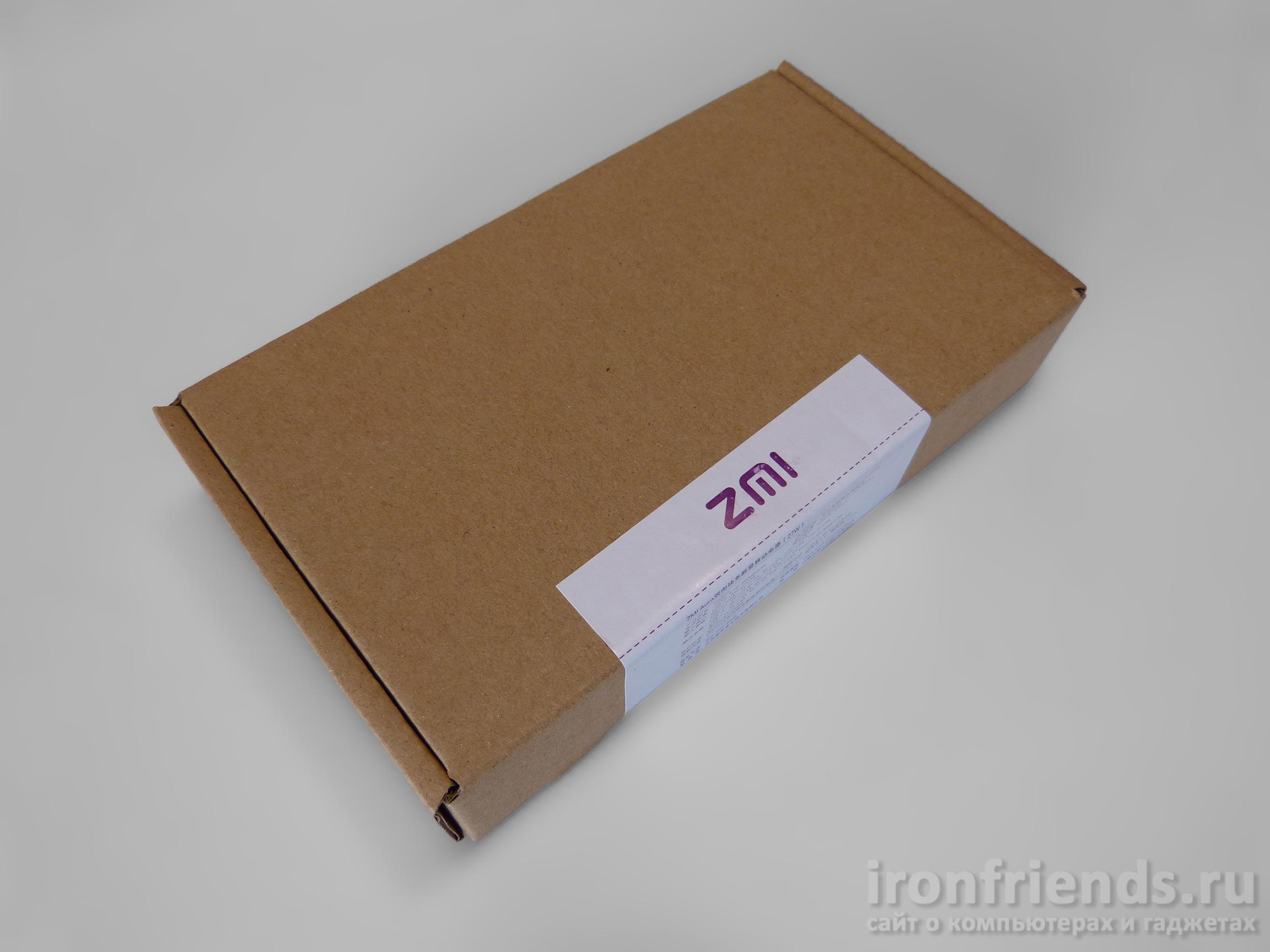Наружная упаковка Xiaomi ZMi Aura 20000