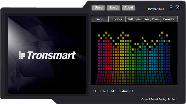 Программа Tronsmart Glary Audio