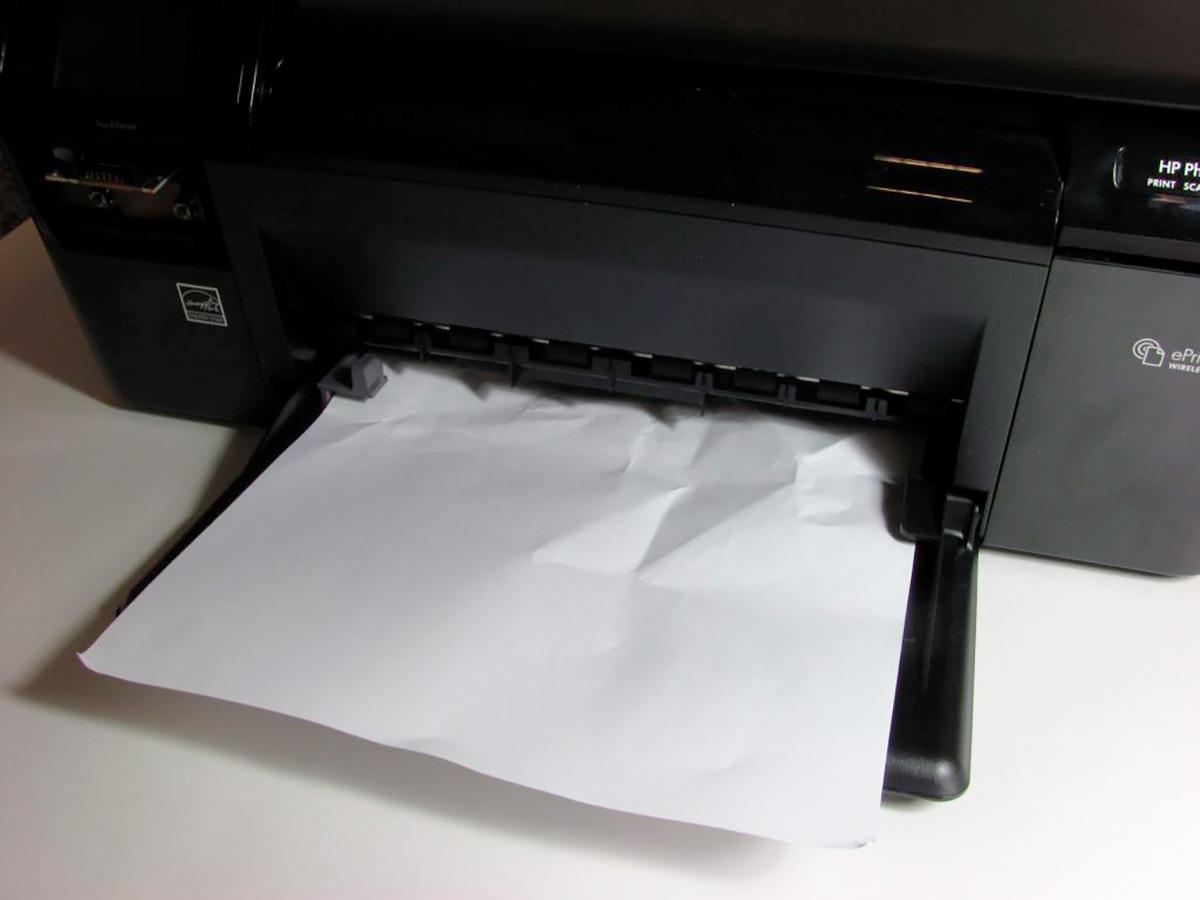 Принтер жует бумагу