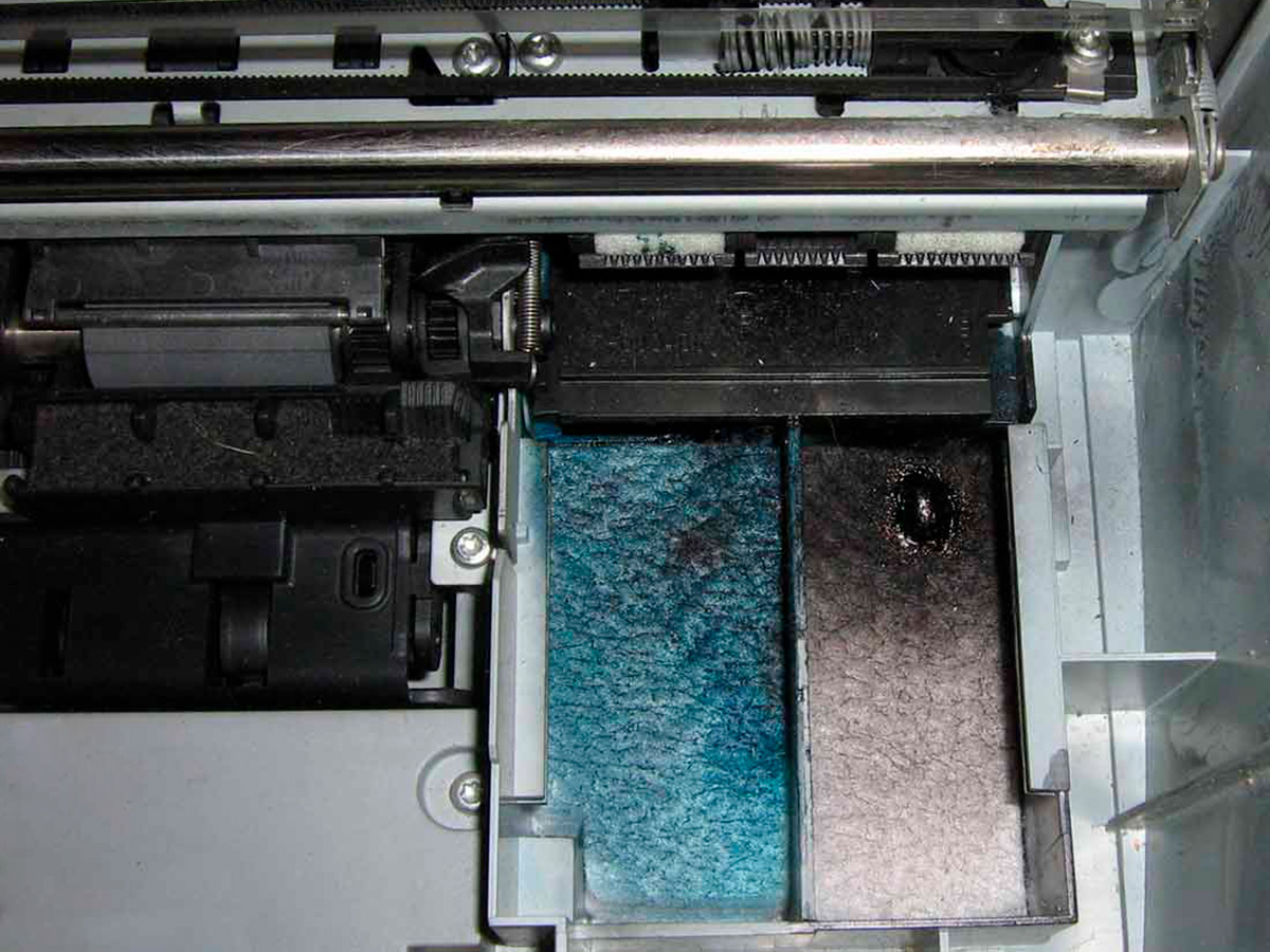 Памперс струйного принтера