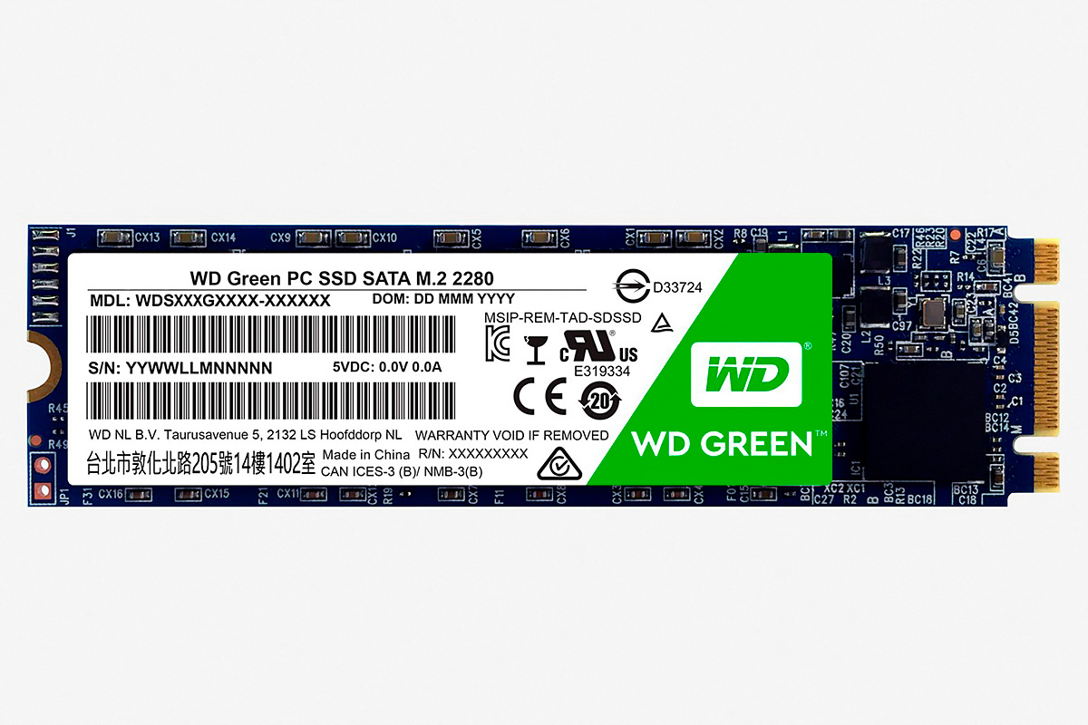 SSD диск WD GREEN PC SSD 120 GB