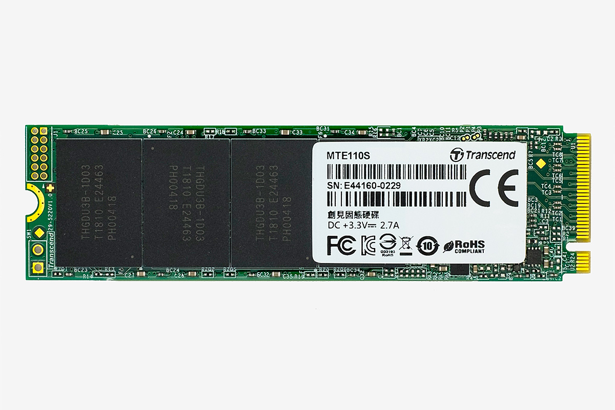 SSD диск Transcend 110S 128GB