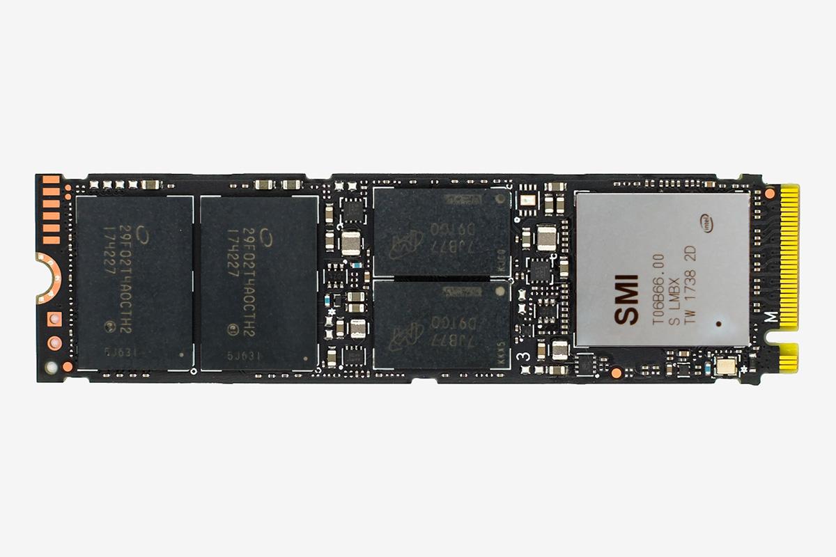 SSD диск Intel 760p 128 GB