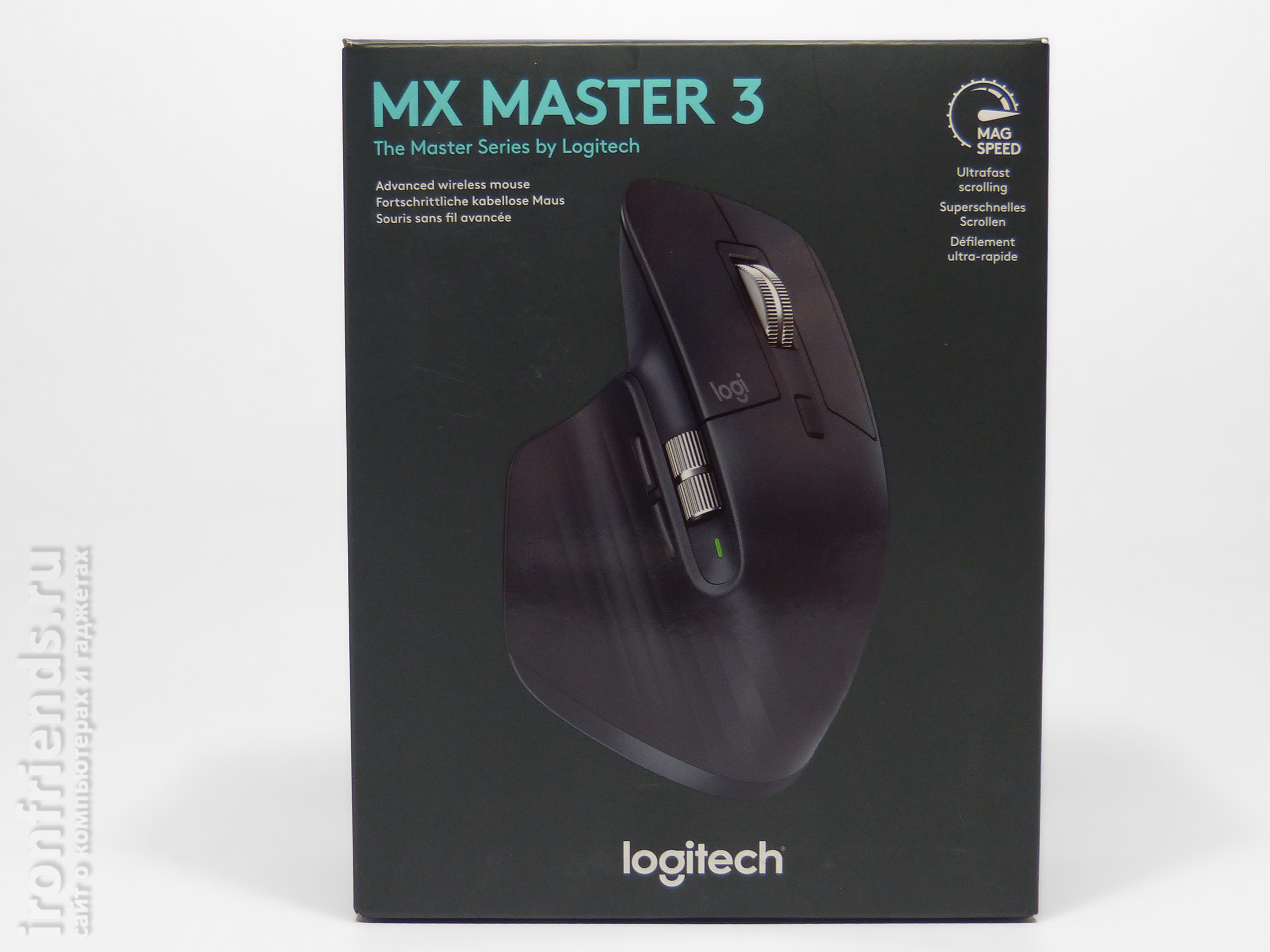 Упаковка Logitech MX Master 3