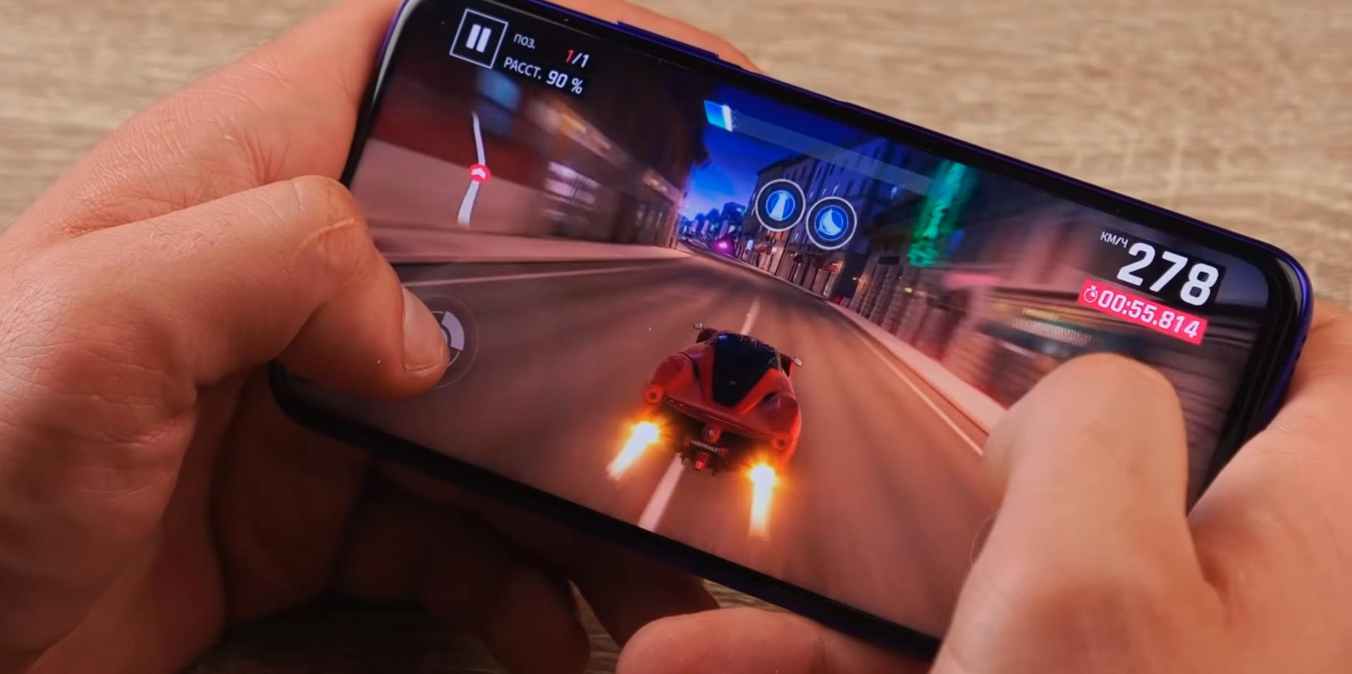 Тесты Huawei Nova 5T в играх