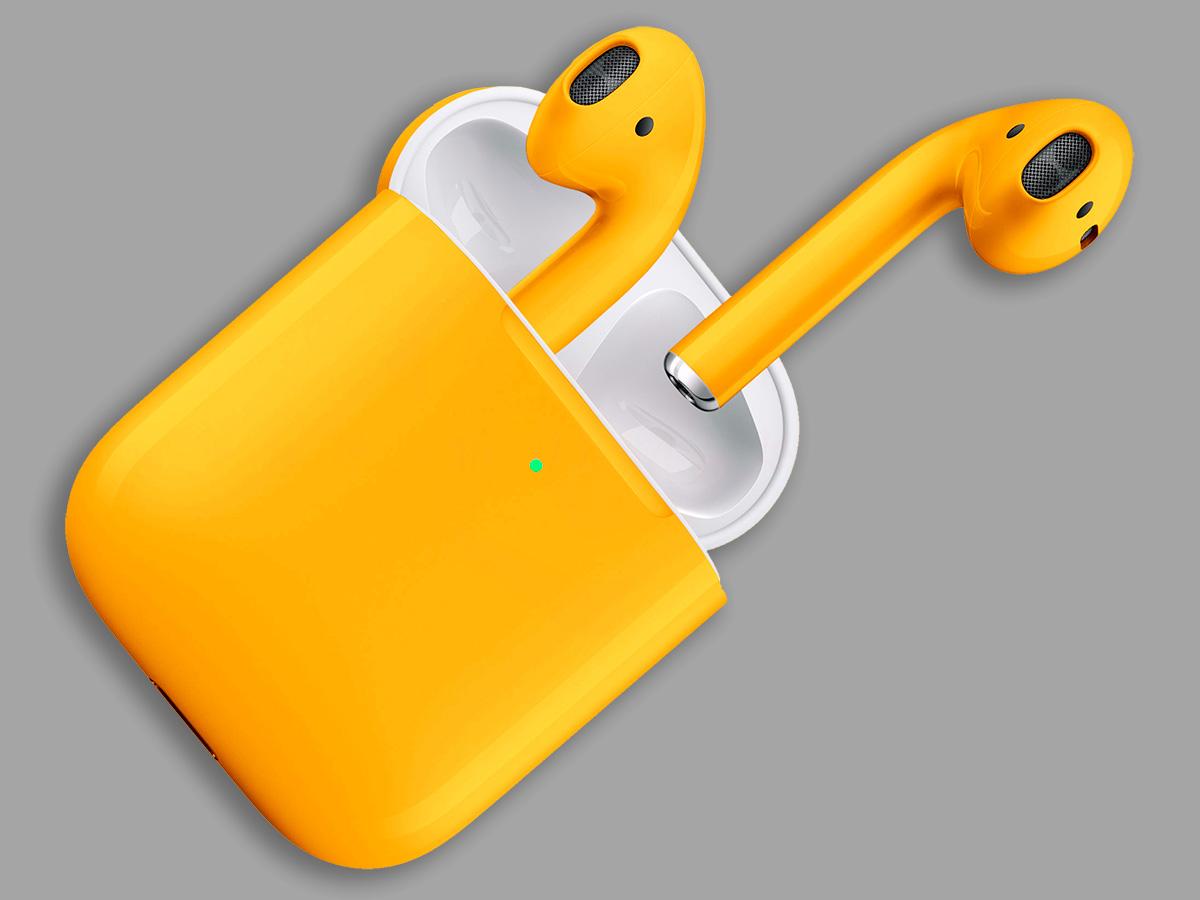 Цветные наушники AirPods 2 Color