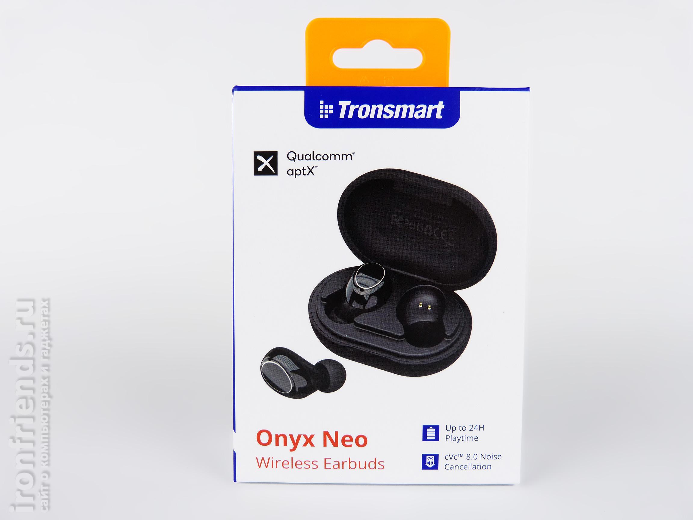 Упаковка Tronsmart Onyx Neo