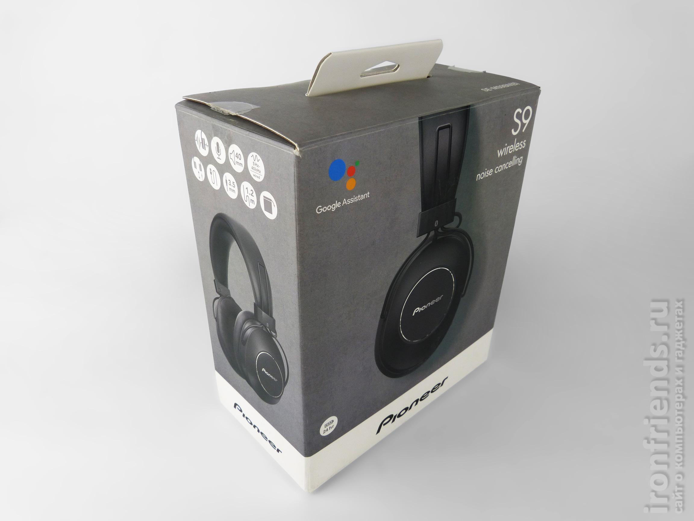 Упаковка Pioneer SE-MS9BN-B