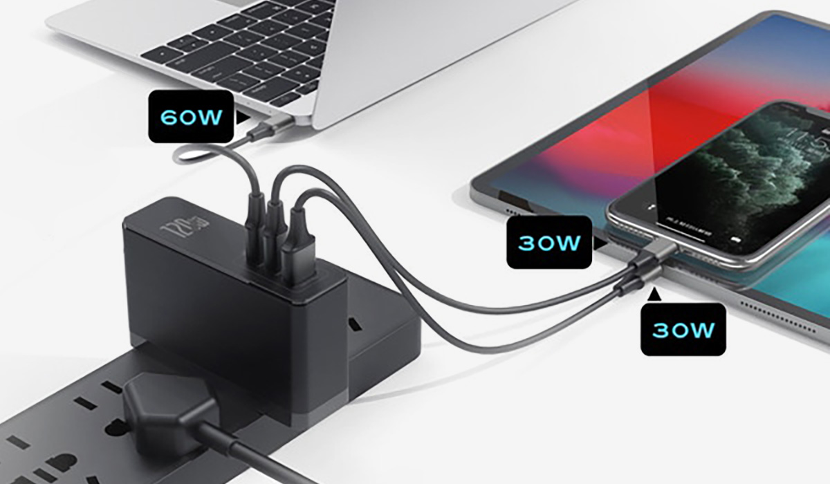 Galio: Ultimate Small & Powerful 120w GaN+SiC USB-C Charger