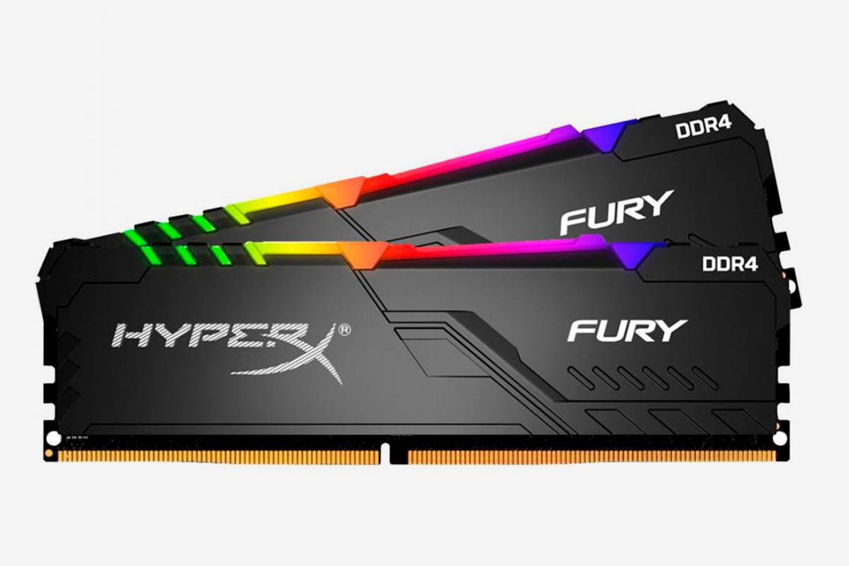 Оперативная память HyperX Fury DDR4 RGB 2x8Gb (HX426C16FB3AK2/16)