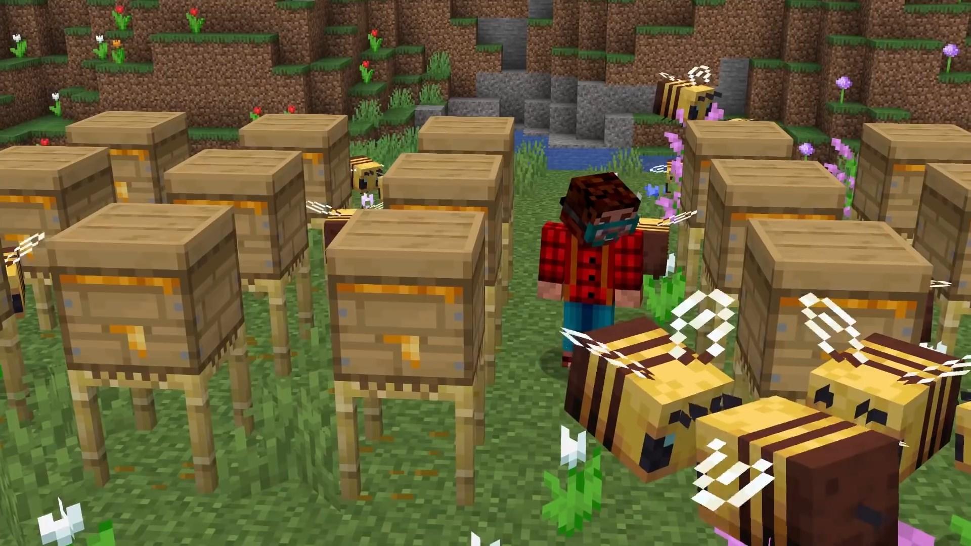 Игра Minecraft PE 1.15