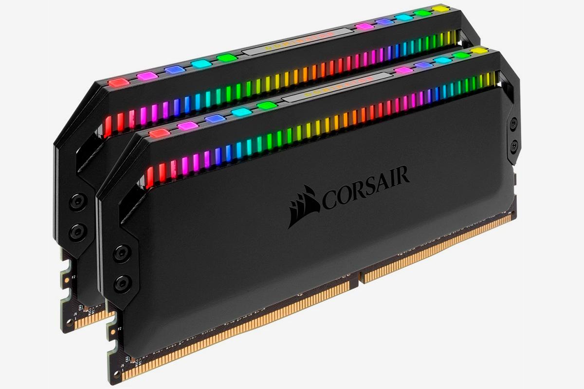 Оперативная память Corsair Dominator Platinum RGB DDR4 2x8Gb (CMT16GX4M2C3200C16)