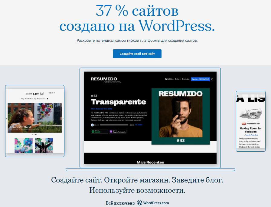 Система управления контентом WordPress