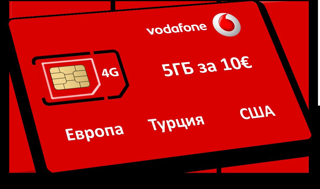 Карта Vodafone Yuser