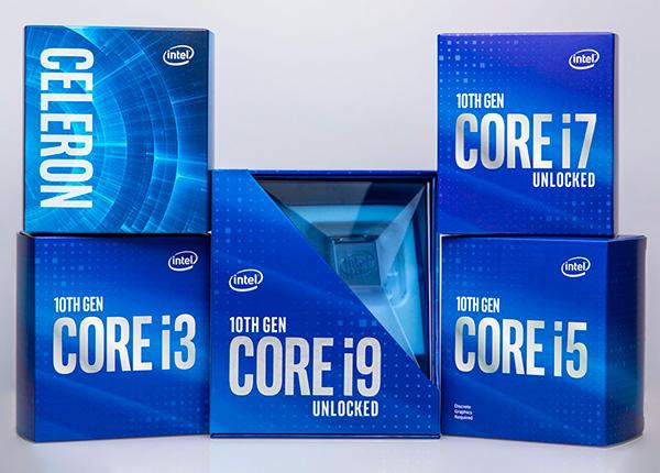 Процессоры Intel 10-го поколения