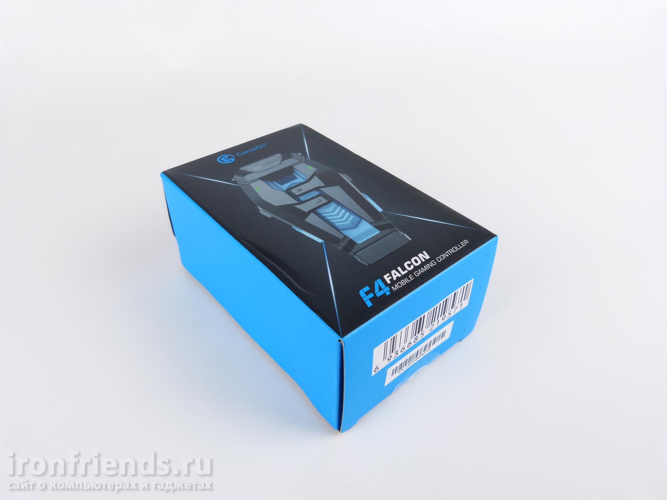 Упаковка GameSir F4 Falcon