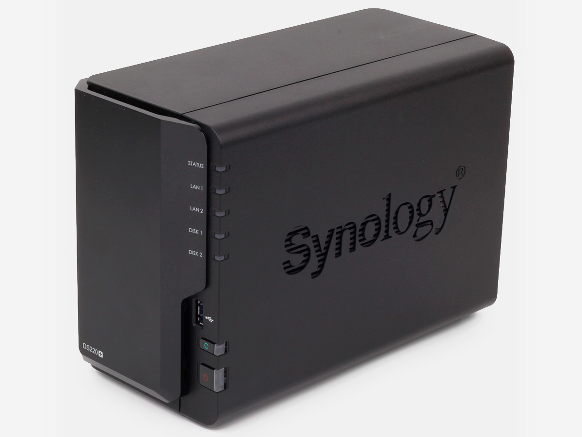 Сетевое хранилище Synology DS220+