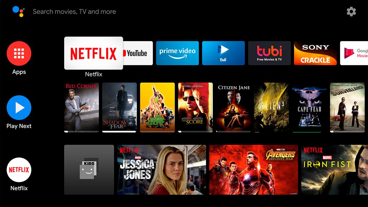 Операционная система Android TV