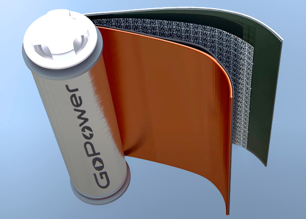 Устройство аккумулятора GoPower